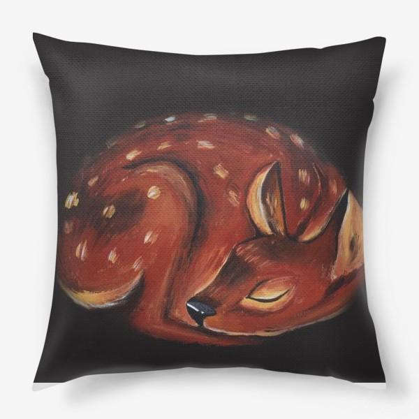 Подушка «Спящий олень»