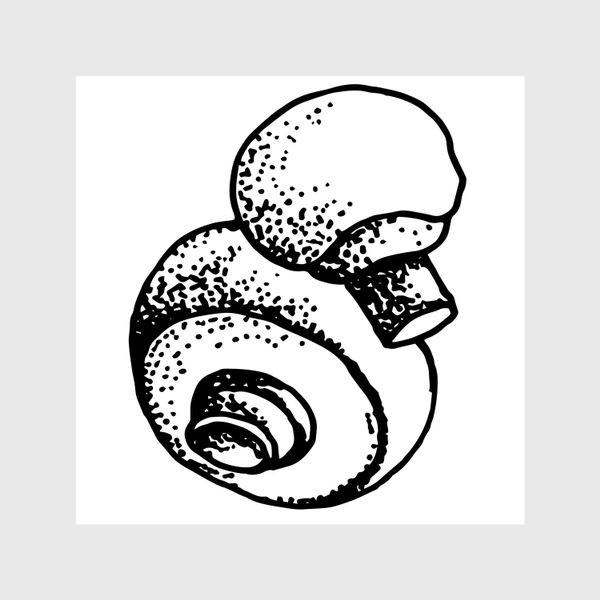 Шторы «Вкусный гриб»