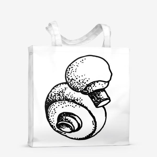 Сумка-шоппер «Вкусный гриб»