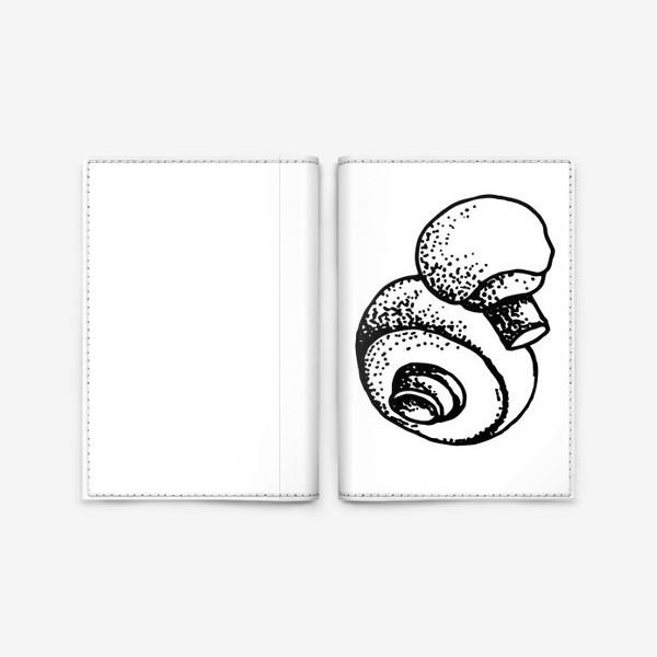 Обложка для паспорта «Вкусный гриб»