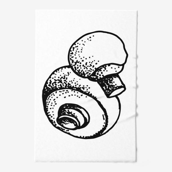 Полотенце «Вкусный гриб»