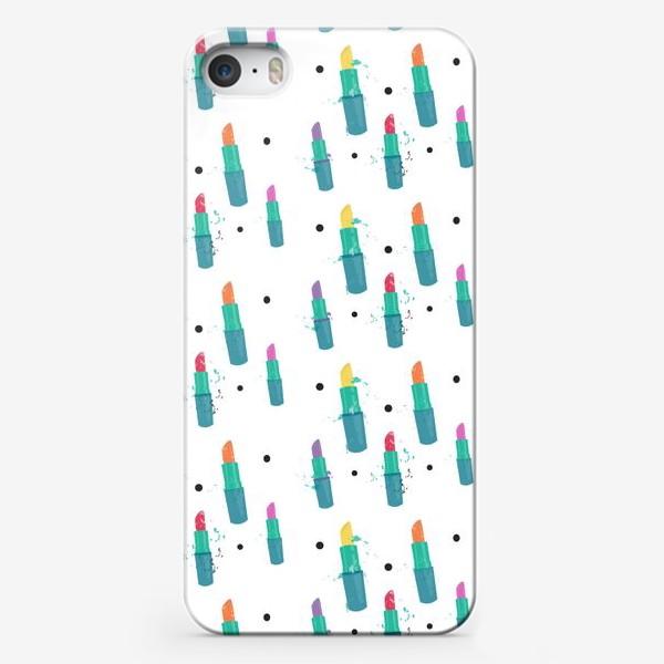 Чехол iPhone «Косметичка»