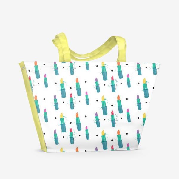 Пляжная сумка «Косметичка»