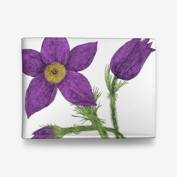 Кошелек «Весенний цветок»