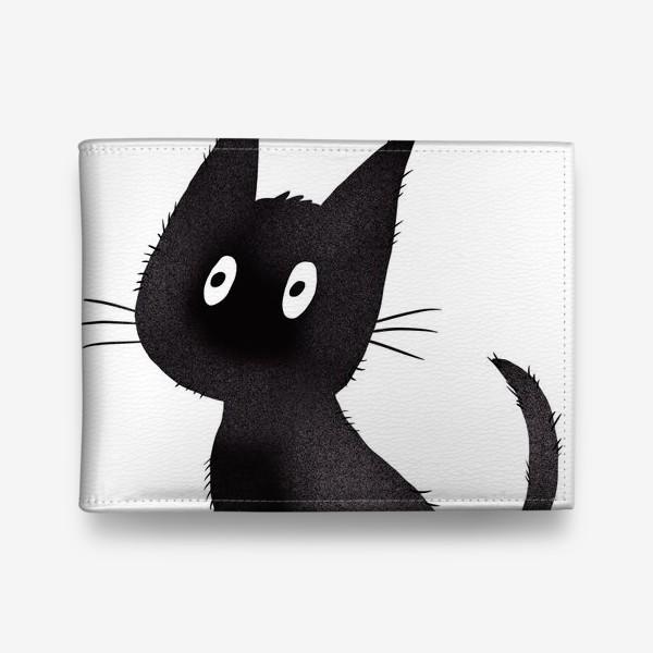 Кошелек «Милый чёрный кот»