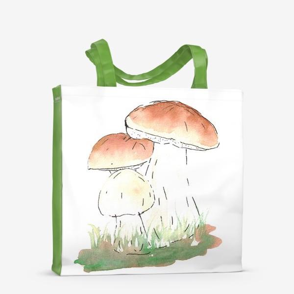 Сумка-шоппер «Porcini mushrooms»