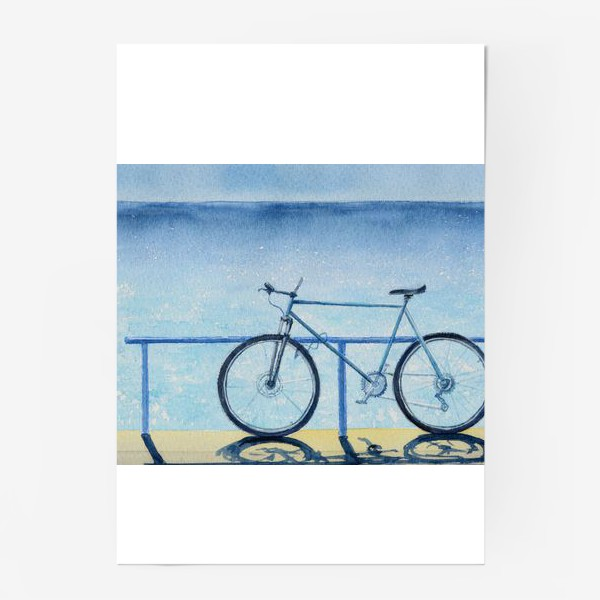 Постер «велопрогулка»