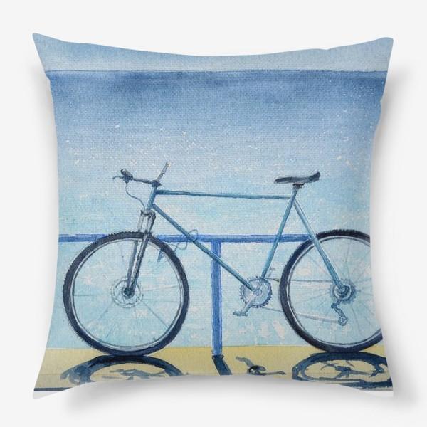 Подушка «велопрогулка»