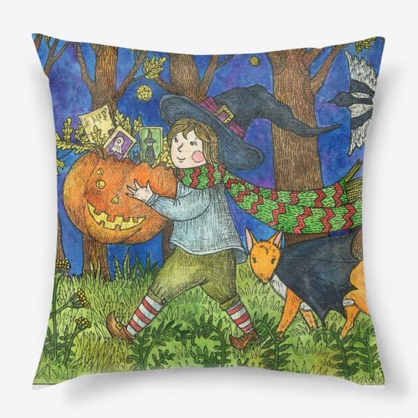 Подушка «Веселый Хэллоуин»