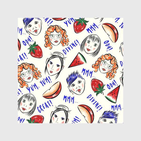 Скатерть «FRUIT & GIRLS»