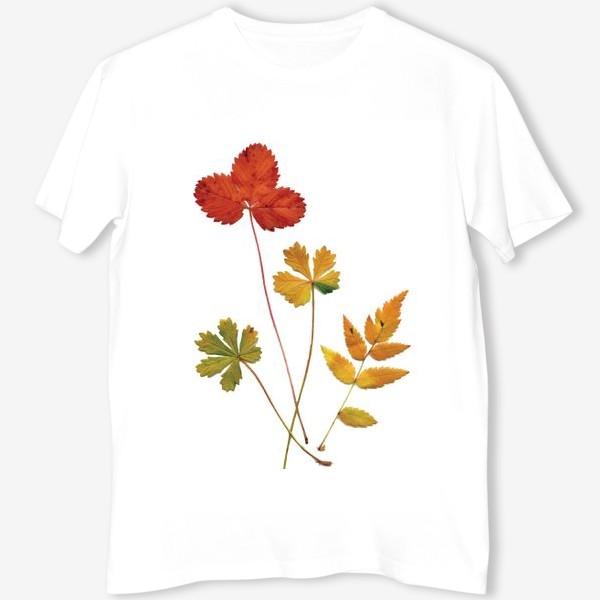 Футболка «Осенние листья. Autumn leaves.»