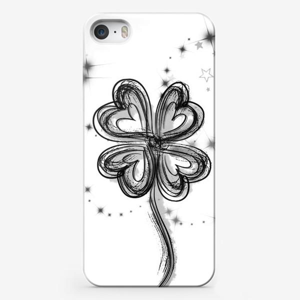 Чехол iPhone «Клевер»