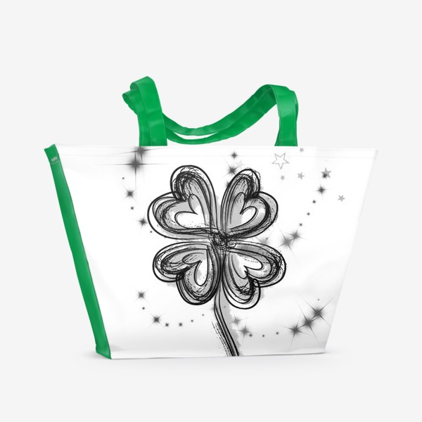 Пляжная сумка «Клевер»