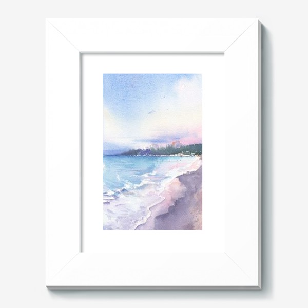 Картина «Рассветное море»