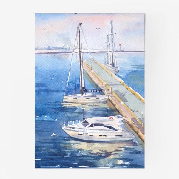 Постер «Яхт-клуб»