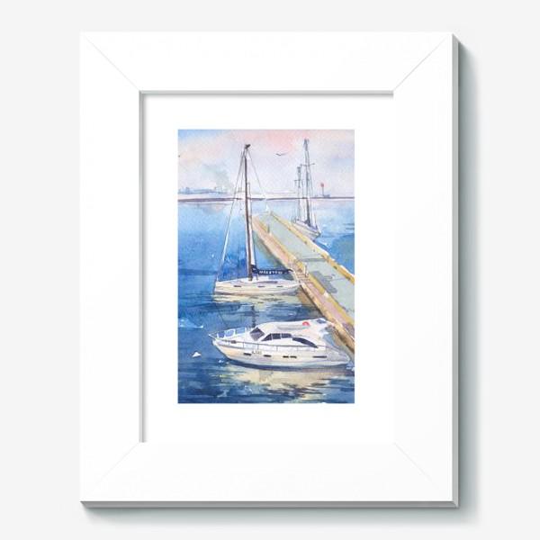 Картина «Яхт-клуб»