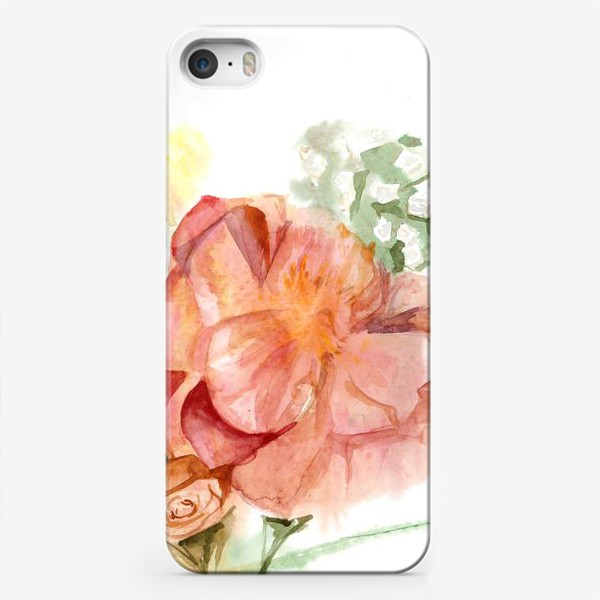 Чехол iPhone «Букет»