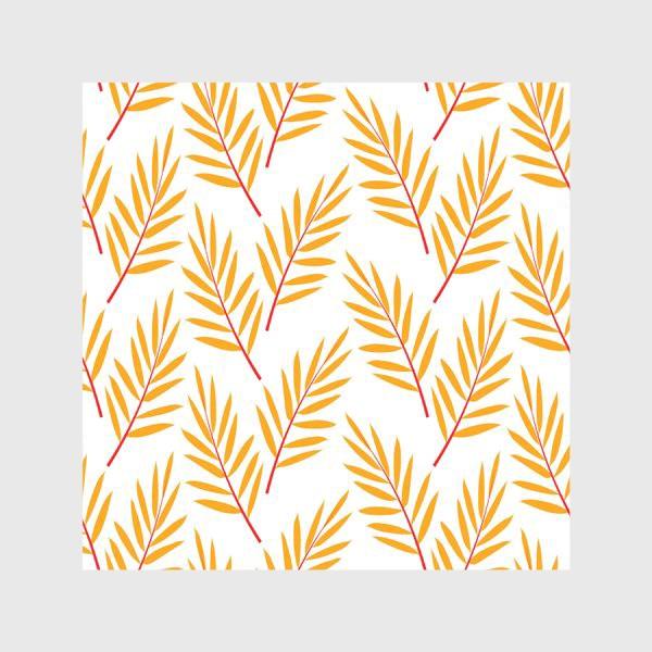 Скатерть «оранжевые осенние листья»