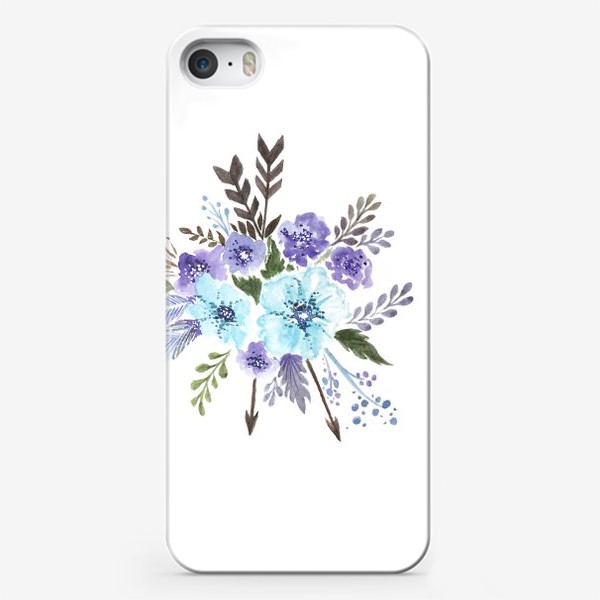 Чехол iPhone «Indi flowers»