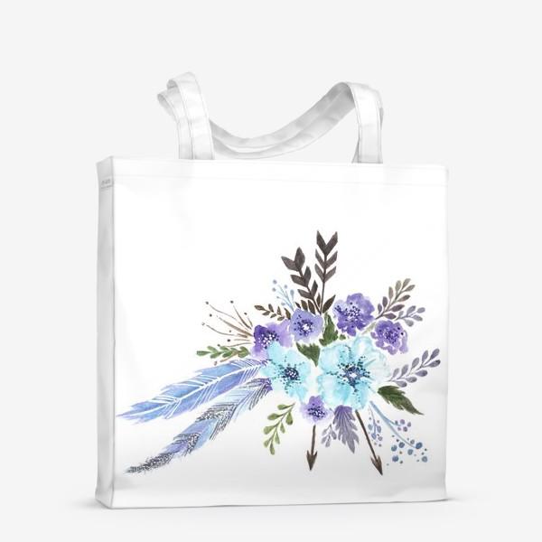 Сумка-шоппер «Indi flowers»