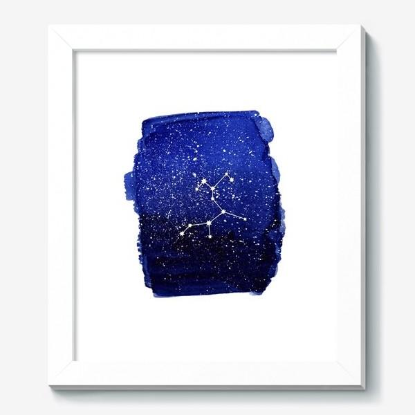 Картина «Созвездие Стрелец. Акварель»