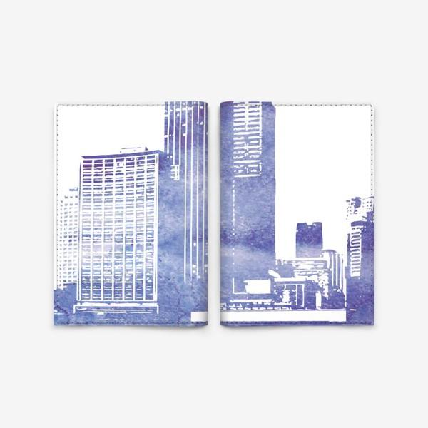 Обложка для паспорта «City»