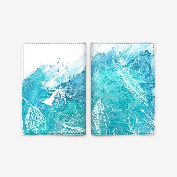 Обложка для паспорта «Blossom 3»