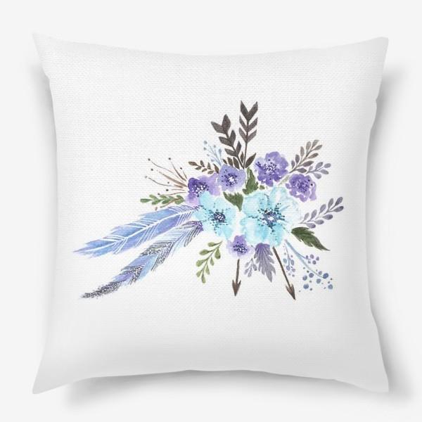 Подушка «Indi flowers»