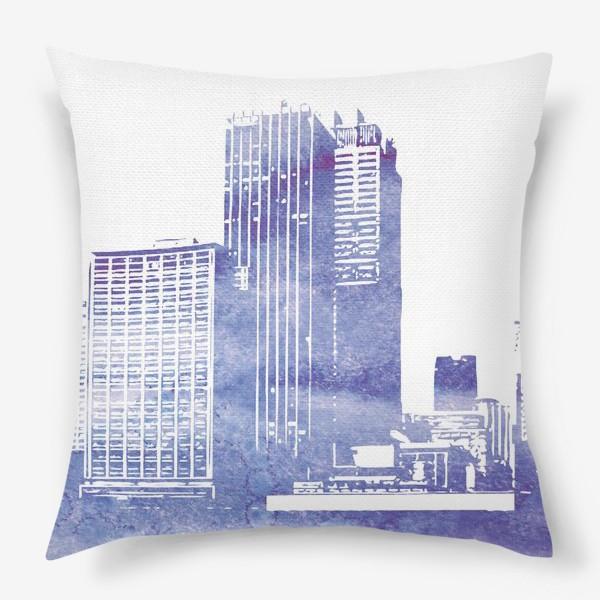 Подушка «City»