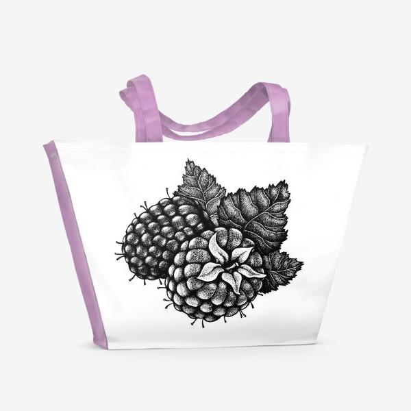 Пляжная сумка «Малина»