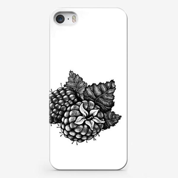 Чехол iPhone «Малина»