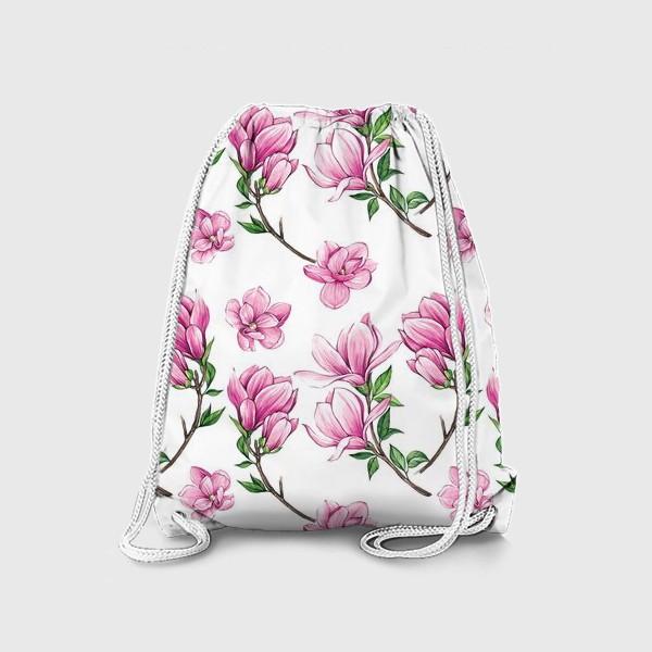 Рюкзак «Цветущие магнолии»