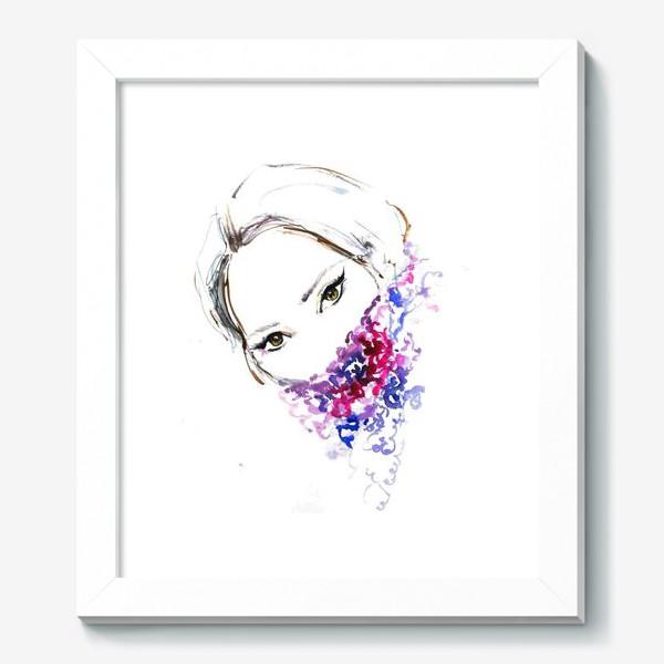 Картина «Девушка в шарфе»