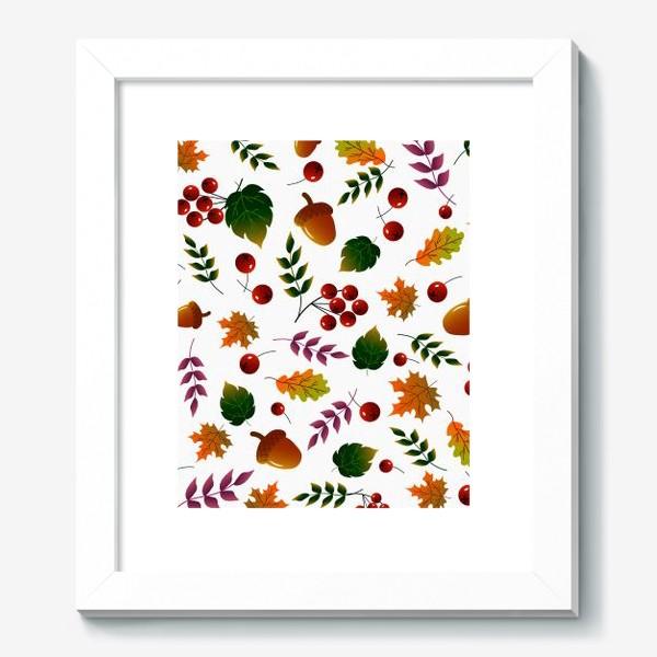 Картина «Осенний лес»