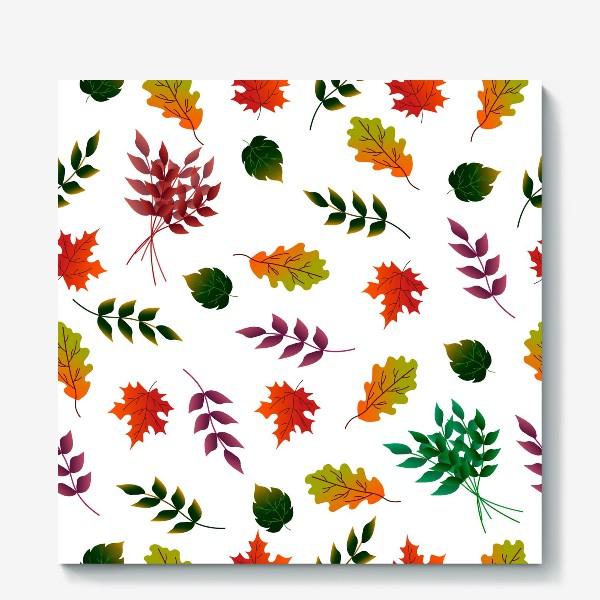 Холст «Осенние листья.»