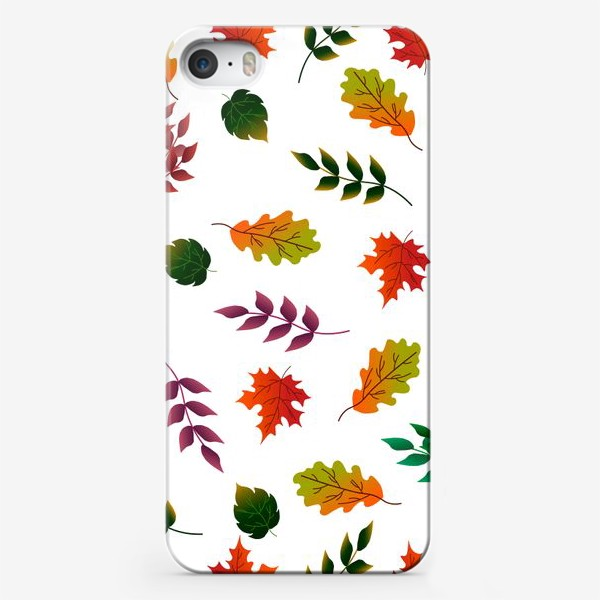 Чехол iPhone «Осенние листья.»