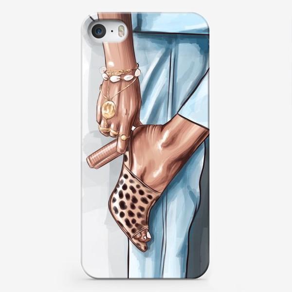 Чехол iPhone «Ножка1»