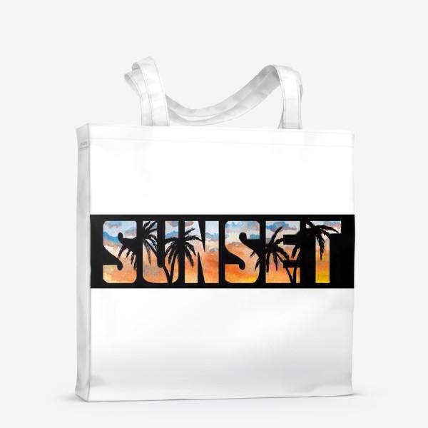 Сумка-шоппер «Sunset»