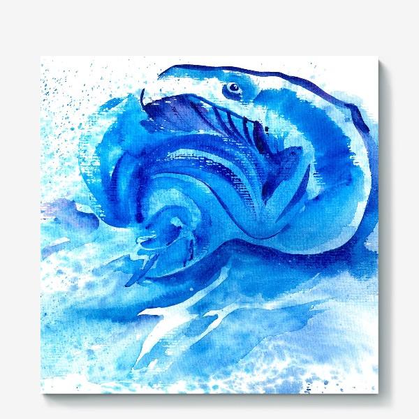 Холст «Синяя мечта»