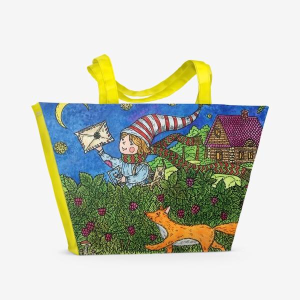 Пляжная сумка «Ночная прогулка»