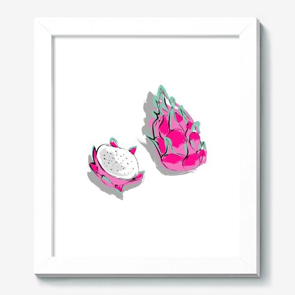 Картина «Питая или драконий фрукт. Яркий тропический фрукт»