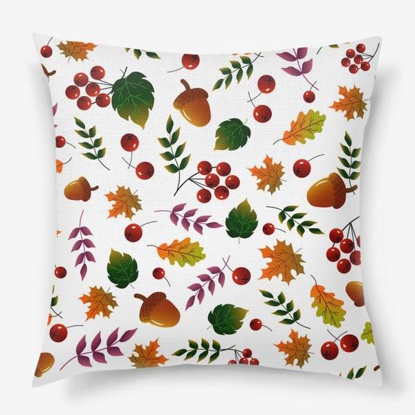 Подушка «Осенний лес»