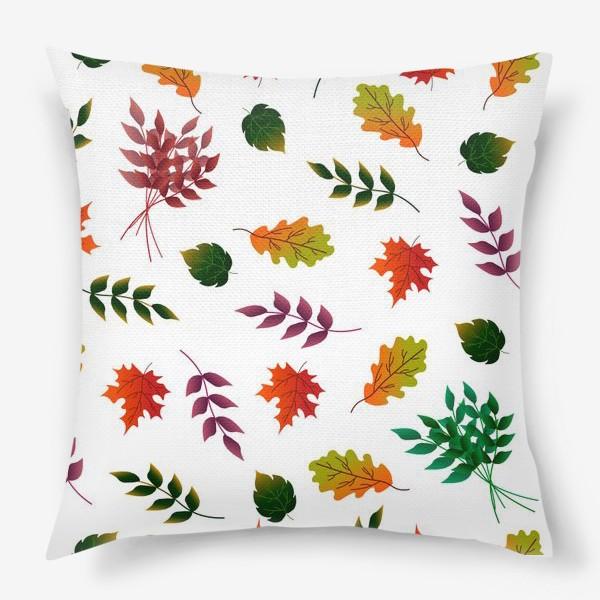 Подушка «Осенние листья.»