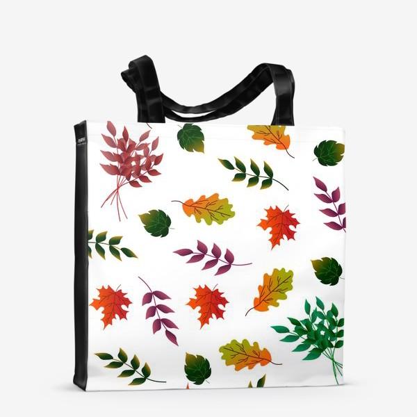 Сумка-шоппер «Осенние листья.»