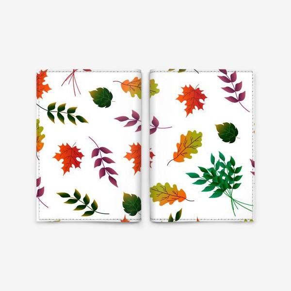 Обложка для паспорта «Осенние листья.»