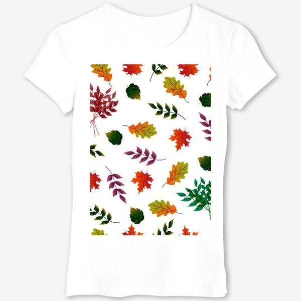 Футболка «Осенние листья.»