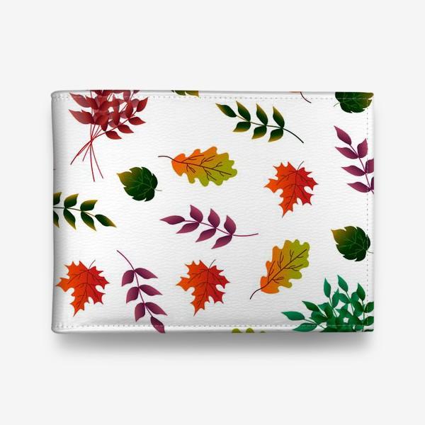 Кошелек «Осенние листья.»