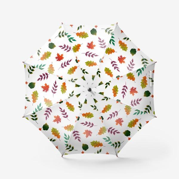 Зонт «Осенние листья.»