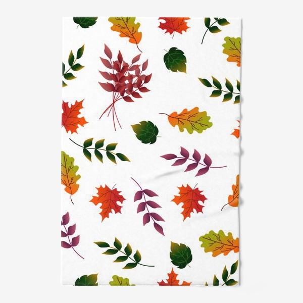 Полотенце «Осенние листья.»