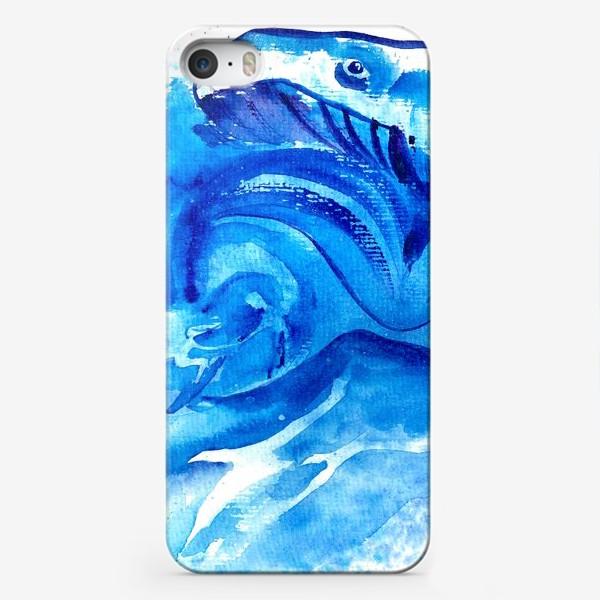 Чехол iPhone «Синяя мечта»